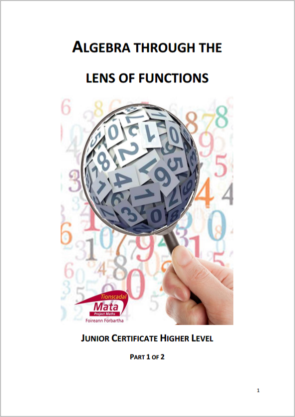 Algebra Through The Lens of Functions